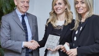 EFFEPI, nel suo 40esimo, premiata con il GDE Internationa Award per la porta MAJOR